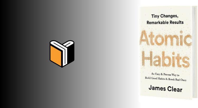 Zdjęcie książki Atomic Habits - James Clear - zdjęcie okładki